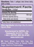 Saw Palmetto 160mg. / 30 Softgels