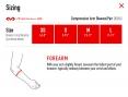 Performance Compression Arm Sleeve /Black/ № 656
