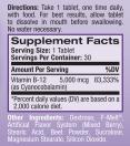 Vitamin B 12 Fast Dissolve 5000mcg / 30 Tabs.