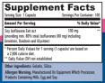 Soy Isoflavones 80% Extract NON-GMO  100mg / 100 Caps