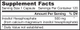 IP6 (Inositol Hexaphosphate) 500mg. / 120 Caps.