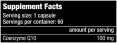 Q10 Coenzyme / 60caps