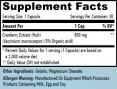 Cranberry Fruit Extract / 30 Caps.
