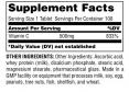 Vitamin C Formula 500mg. / 100 Tabs.