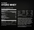 Platinum Hydro Whey 3.5 lbs.