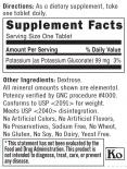 Potassium Gluconate 99 mg. / 100 Tabs.