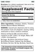 L-Arginine 500 mg. / 90 Caps.
