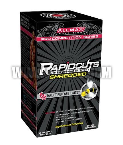ALLMAX Rapidcuts Shredded 90 Caps.