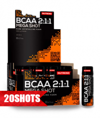 NUTREND BCAA Mega Shot / 2:1:1 / 20 x 60ml.