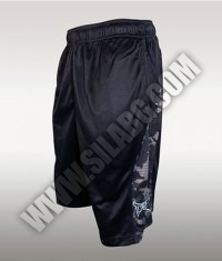 TAPOUT Camo Elite Basketball Short /Black/