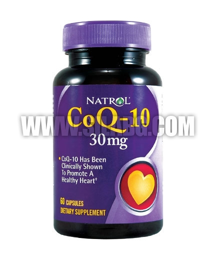 NATROL CoQ-10 / 30mg. / 60 Caps.