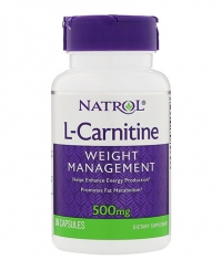 NATROL L-Carnitine 500mg. / 30 Caps.