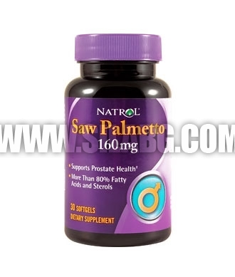 NATROL Saw Palmetto 160mg. / 30 Softgels