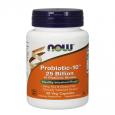 NOW Probiotic-10 ™ / 25 Billion / 50 VCaps.