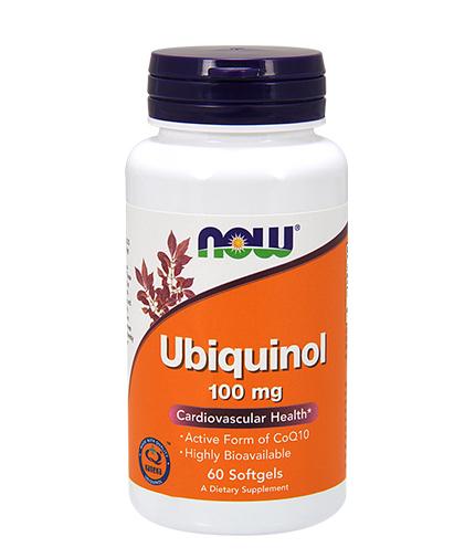 NOW Ubiquinol 100mg. / 60 Softgels
