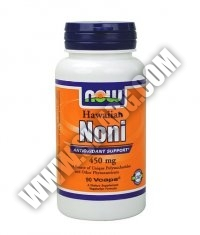 NOW Hawaiian Noni 450mg. / 90 VCaps.