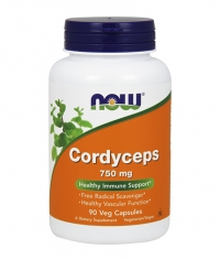 NOW Cordyceps 750mg. / 90 VCaps.