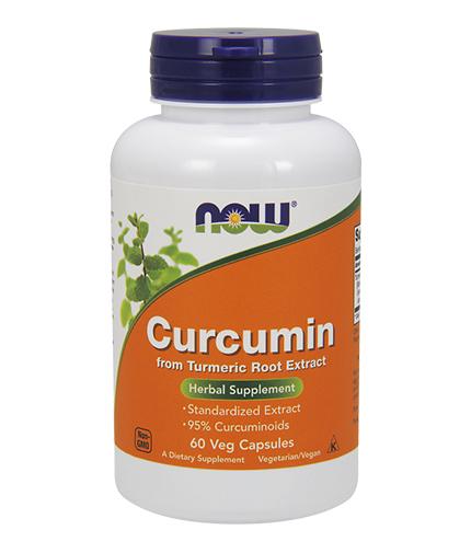 NOW Curcumin 60 VCaps.