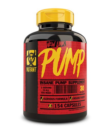 MUTANT Pump 154 Caps.