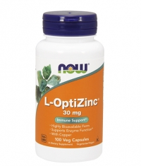 NOW L-OptiZinc ® 30mg. / 100 Caps.