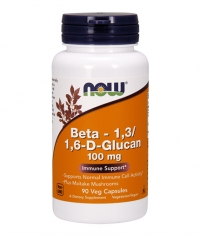 NOW Beta 1,3/1,6- D -Glucan 100mg. / 90 VCaps.
