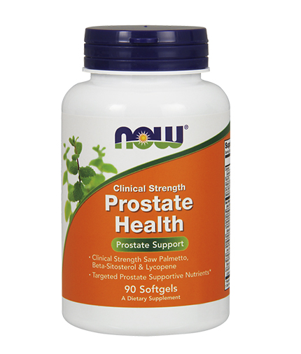 NOW Prostate Health /Clinical Strength/ 90 Softgels
