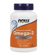 NOW Omega 3 Fish Oil 1000 mg. / 500 Softgels