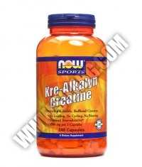 NOW Kre-Alkalyn ® Creatine 240 Caps.