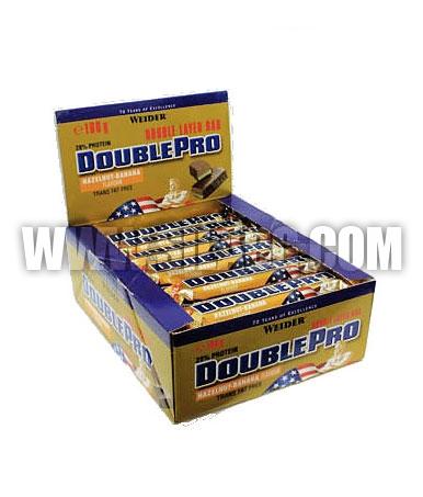 WEIDER Double Pro Bar 24 x 50g.