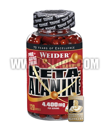 WEIDER Beta-Alanine 120 Caps.
