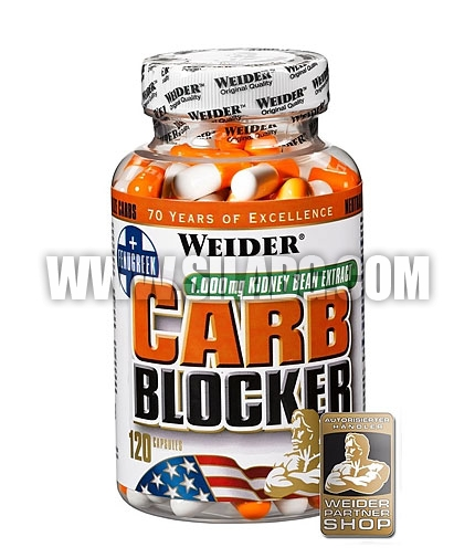 WEIDER Carb Blocker 120 Caps.