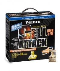 WEIDER Cell Attack 1200g. + 90 Caps.