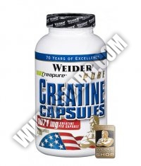 WEIDER Pure Creatine 200 Caps.