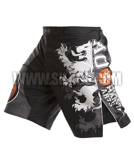 HAYABUSA FIGHTWEAR Alistair Overeem Signature Fight Shorts /Black/