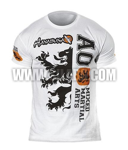 HAYABUSA FIGHTWEAR Alistair Overeem Signature T-Shirt /White/