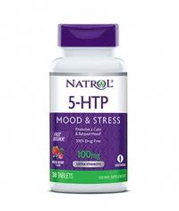 NATROL 5-HTP Fast Dissolve 100mg. / 30 Tabs.