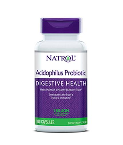 NATROL Acidophilus Probiotic 100mg. / 100 Caps.