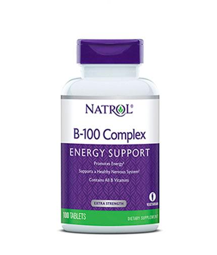 NATROL B-100 Complex / 100 Tabs.