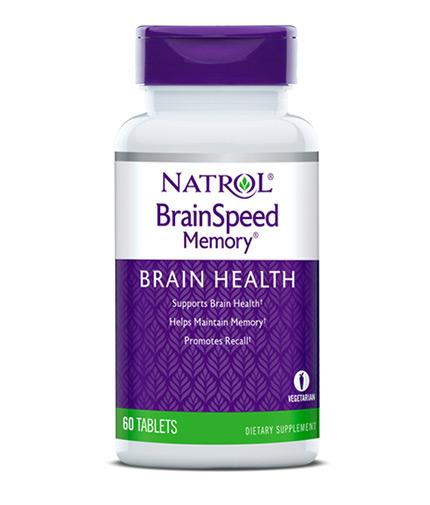 NATROL BrainSpeed ™ Memory / 60 Tabs.