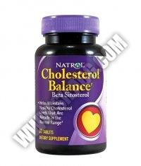 NATROL Cholesterol Balance Beta Sitosterol 60 Tabs.