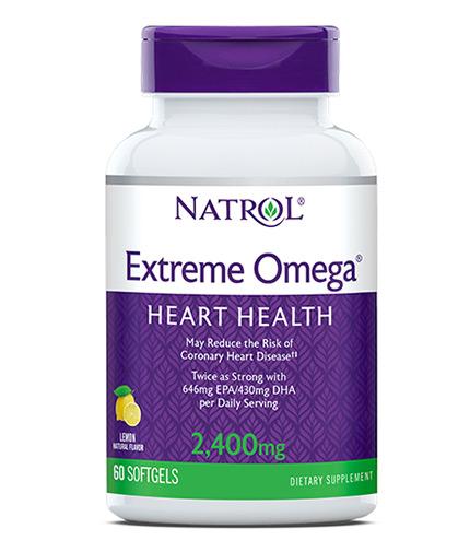 NATROL Extreme Omega 2400mg. / 60 Softgels