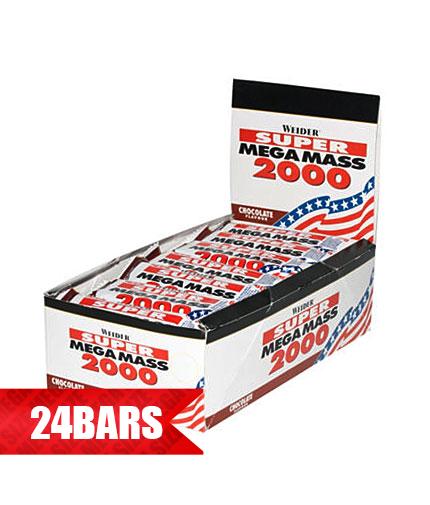 WEIDER Mega Mass 2000 Bar 24 x 60g.