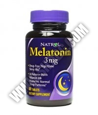 NATROL Melatonin 3 mg. / 120 Tabs.