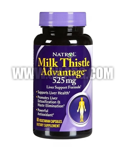 NATROL Milk Thistle Advantage ® 525mg. / 60 Tabs.