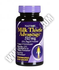 NATROL Milk Thistle Advantage ® 525mg. / 60 Tabs.