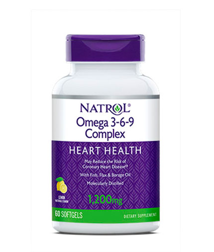 NATROL Omega-3-6-9 Complex 60 Softgels