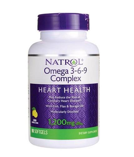 NATROL Omega 3-6-9 Complex 90 Softgels