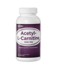 GNC Acetyl-L-Carnitine 500mg. / 60 Caps.