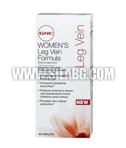 GNC Women's Leg Vein Formula 60 Caps.