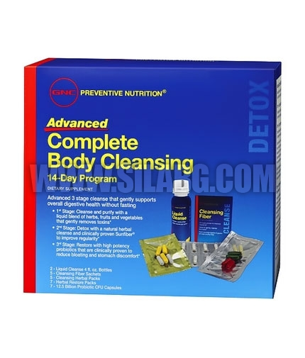 GNC Advanced Complete Body Cleansing Program 14 Day Program